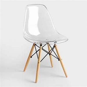 Clear Molded Evie Chairs Set of 2 World Market