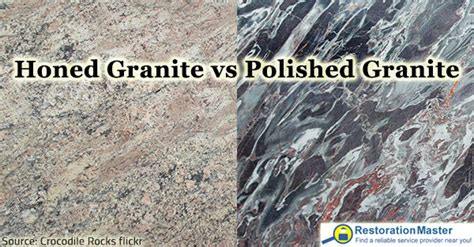 honed granite vs polished pros and cons