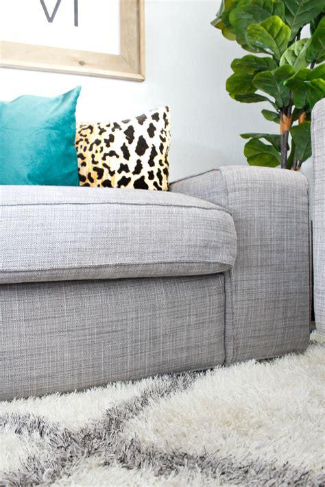 Ikea Kivik Sofa Bewertung by Kivik Sofa Legs Hack Review Home Co