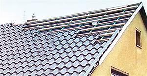 Neues Dach Mit Dämmung Kosten : neues dach mit leichten metalldachpfannen dacheindeckungen mit berliner welle anstatt ~ Markanthonyermac.com Haus und Dekorationen