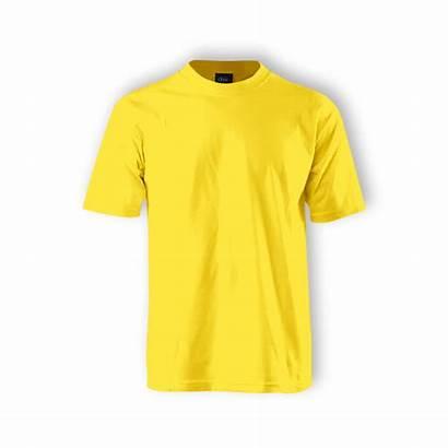 Plain Neck Round Yellow Shirt Enzo Children