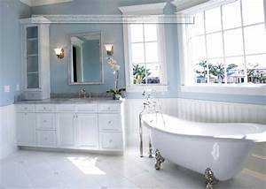 one of the best paint colors for bathrooms using blue wall With best blue paint color for bathroom
