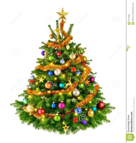 perfect colorful christmas tree stock photo image 61172235