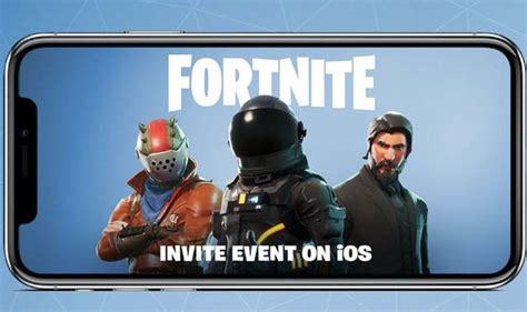 fortnite mobile when is fortnite coming to ios and android how do you sign up gaming