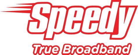 Speedy berbasis teknologi akses asymmetric digital subscriber line (adsl) dan gigabit passive optical network (gpon) dengan menggunakan jaringan fiber optik sampai ke rumah atau fiber to the home (ftth). Speedy - Logopedia - Wikia