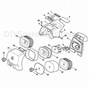 Stihl Ms 660 Chainsaw  Ms660 W  Parts Diagram  Shroud