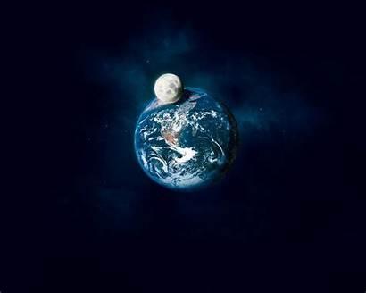 Terre Lune Desktop Fond Space Luna Imagini