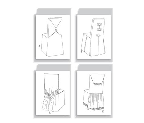 butterick 4480 dining room chair covers