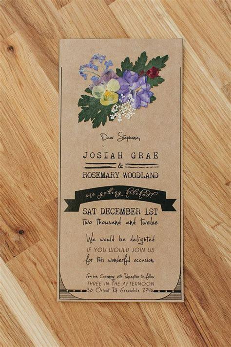 best 25 handmade wedding invitations ideas on pinterest