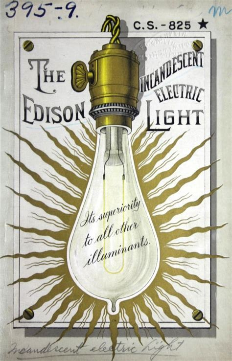 Edison Electric Light Company by The Edison Incandescent Electric Light Its Superiority