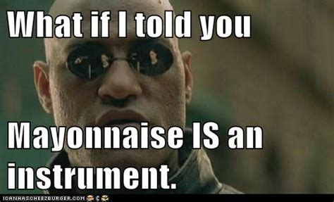told  mayonnaise   instrument set