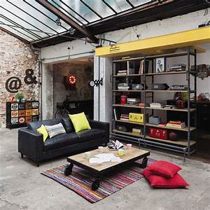 best 25 style industriel ideas on pinterest deco loft With delightful meuble entree maison du monde 2 d tendance le style industriel