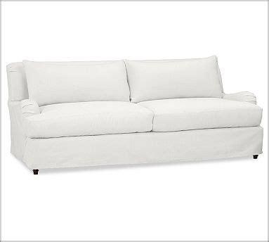 white slip covered sofa slipcovered sofa white for the home pinterest