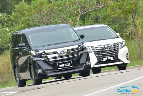 Review Toyota Vellfire by Review 2016 Toyota Alphard 3 5 Vellfire 2 5 Luxury