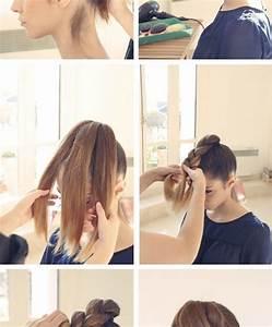 Coiffure Simple Femme : coiffure facile pour cheveux mi long hx49 jornalagora ~ Melissatoandfro.com Idées de Décoration