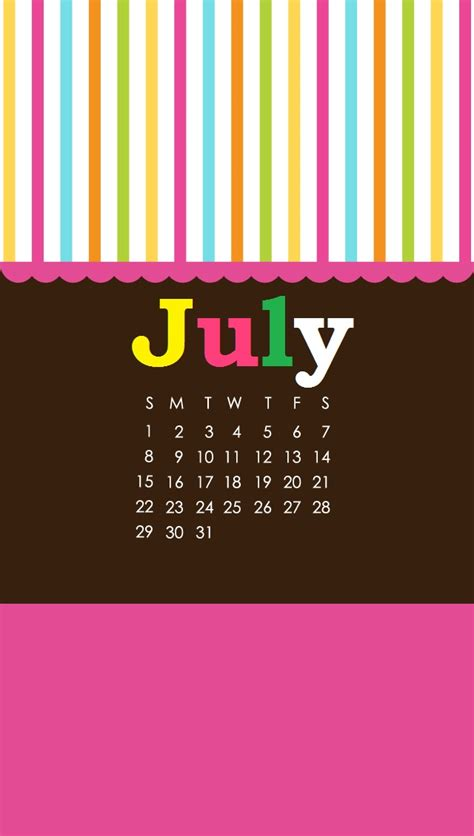 july  calendar  print latest calendar