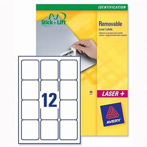 avery labels removable laser 12 per sheet 991 x 423mm With avery labels 12 per sheet