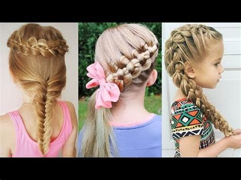Kid Hairstyles by 10 Lovely Kid S Hairstyles Trendy Hairstyles For