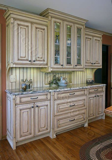 hutch kitchen furniture distressed kitchen cabinets casual cottage