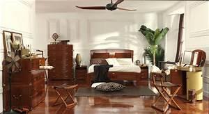 Style Et Deco : d coration style colonial avec chambre deco deco chambre ~ Zukunftsfamilie.com Idées de Décoration
