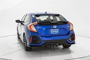 2020 New Honda Civic Hatchback Sport Manual At Richfield