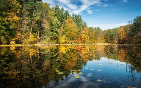 Autumn Lake Wallpapers by Beautiful Autumn Trees Lake Wallpapers Beautiful