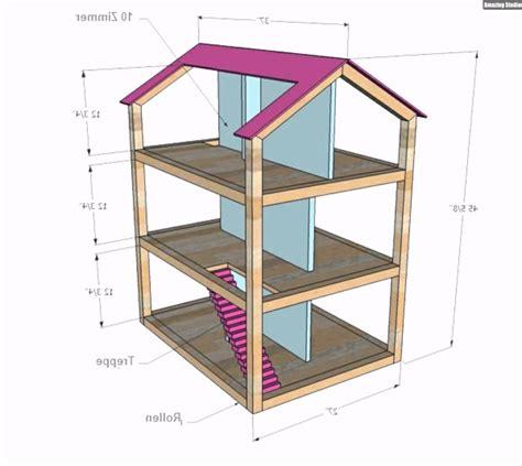puppenhaus holz selber bauen puppenhaus bauplan holz selber machen kinderzimmer design
