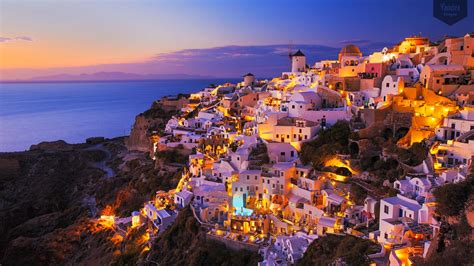 Hd Landscape Wallpapers 1080p Santorini Wallpapers Pictures Images