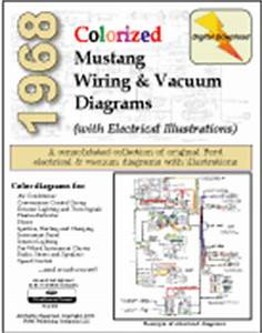 Fordmanuals 1969 Colorized Mustang Wiring Diagrams Ebook