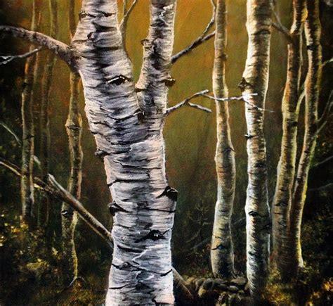 comment peindre un tronc d arbre