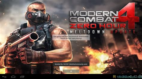 modern combat 4 zero hour v1 1 5 unlimited credits
