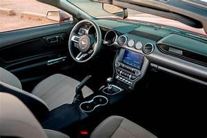 2021 Ford Mustang Convertible Interior Photos | CarBuzz