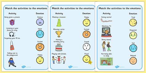 emotions activity worksheets activities worksheet feelings