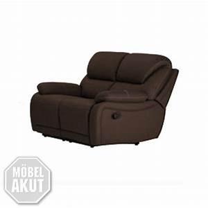 2 Er Sofa Mit Relaxfunktion : 2er sofa berano polsterm bel in braun wei mit relaxfunktion neu ebay ~ Bigdaddyawards.com Haus und Dekorationen