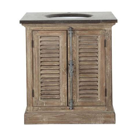 Badezimmermöbel Mit Waschbecken by Badezimmerm 246 Bel Mit Einem Waschbecken Aus Recyclingholz