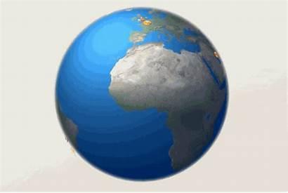 Emoji Spinning Globe Rotating Animated Earth Giphy