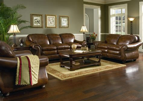 gorgeous living rooms  leather couches