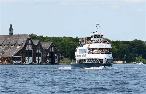Thousand Island Boat Cruise by Cruises Schedules Rockport Cruises