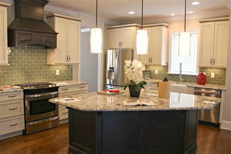 glass top kitchen island kitchen charming l shape kitchen decoration
