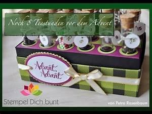 Stempel Dich Bunt : noch 8 teestunden bis zum advent weihnachtsaktion bei ~ Watch28wear.com Haus und Dekorationen