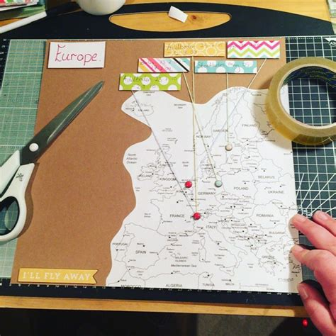 New scrapbook for my travels! My contents page… BLOG POST ...