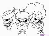 Gangster Coloring Pages Drawings Easy Cartoon Drawing Ganster Gangsta Draw Sketches Letters Uteer Join Fun sketch template