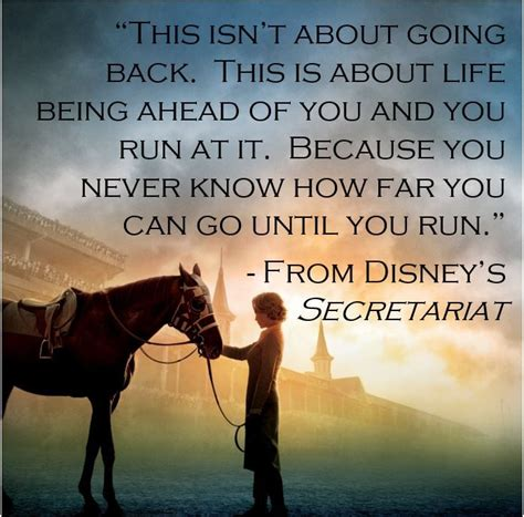 horse secretariat quote quotes poems horses movie go run ahead never going being far know until isn riding war because