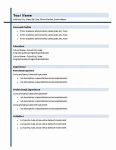 college graduate resume with shading resumes and cv With college resume template word