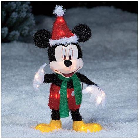 seasonal decor christmas  disney mickey mouse santa hat