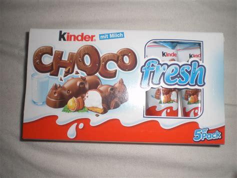 kinder choco fresh chocolate rhinos  milk creme