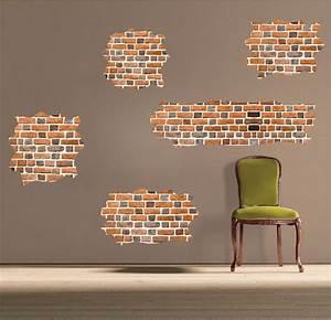 Brick self adhesive wall decals wallpaper decal