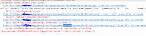 json - JSONDecodeError: Expecting value: line 1 column 1 ...