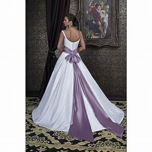 white wedding dresses with purple accents pictures ideas With wedding dress with purple accents