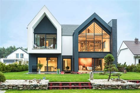 Family Home by Contemporary Family Home In Poland Will Give Your Ideas